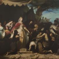 Los Reyes Católicos recibiendo a los cautivos cristianos en la conquista de Málaga.jpg
