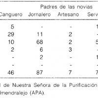 Profesiones de los maridos y de los padres de las novias de la Baja Extremadura (siglo XVII).jpg