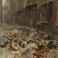 La barricada de la Rue de Mortellerie.jpg