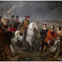 El Gran Capitán, recorriendo el campo de la batalla de Ceriñola.jpg